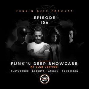 Durtysoxxx, Barbuto, Atroxx, Preston Funk'n Deep Showcase, Club Vertigo (San Jose, Costa Rica) 31-03-2017