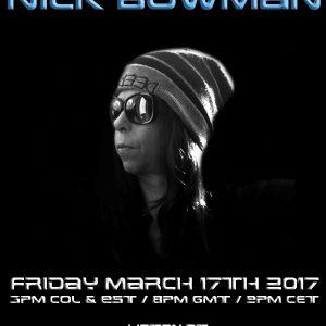 Ninna V and Nick Bowman The Future Underground Show 18-03-2017