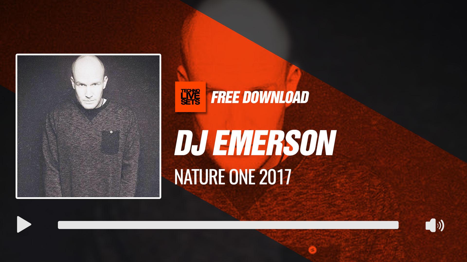 Dj emerson 2017 nature one 2017 08 05 2017 for Canape trossingen