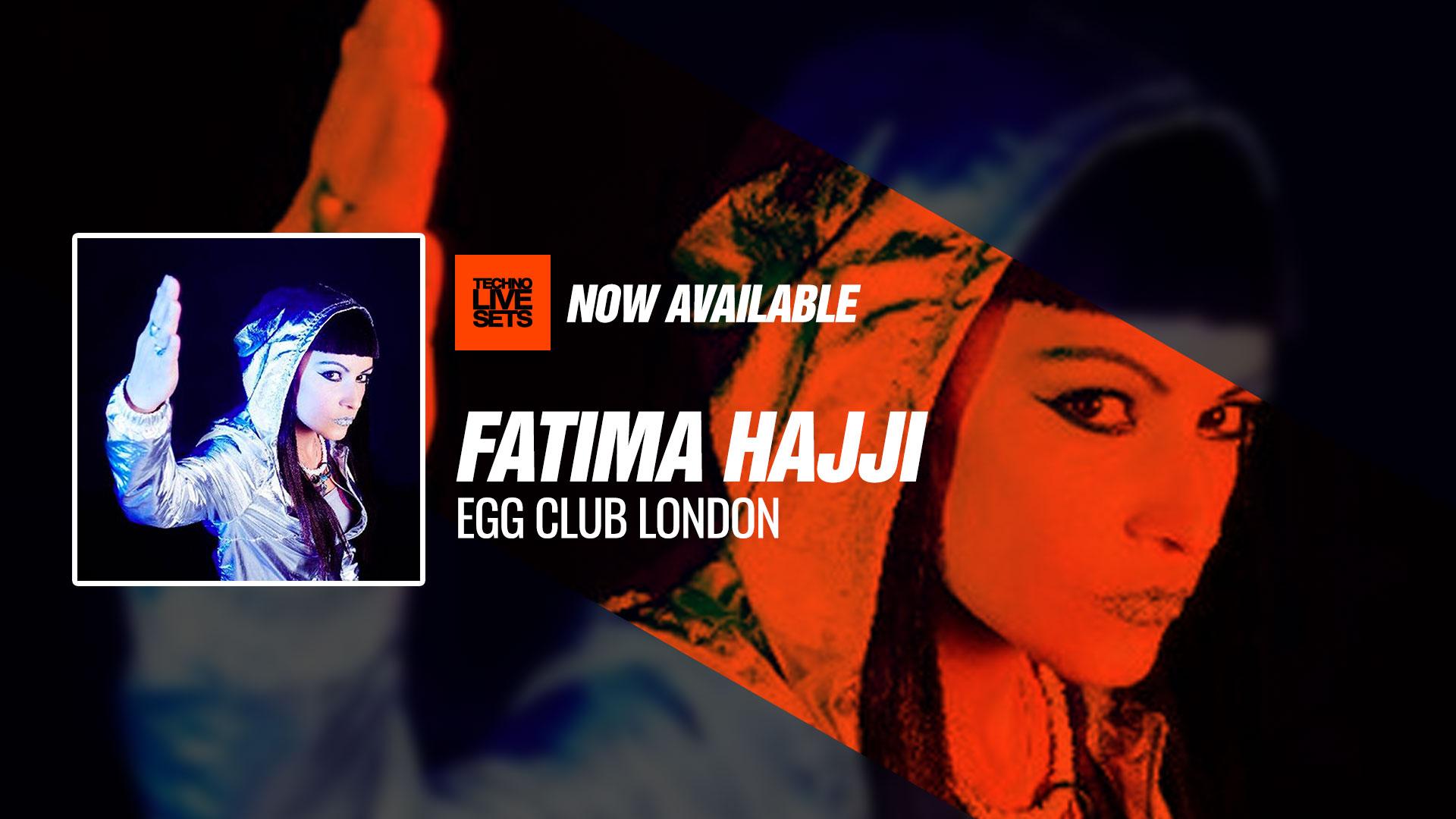 Fatima Hajji 2018 EGG Club London 03-03-2018