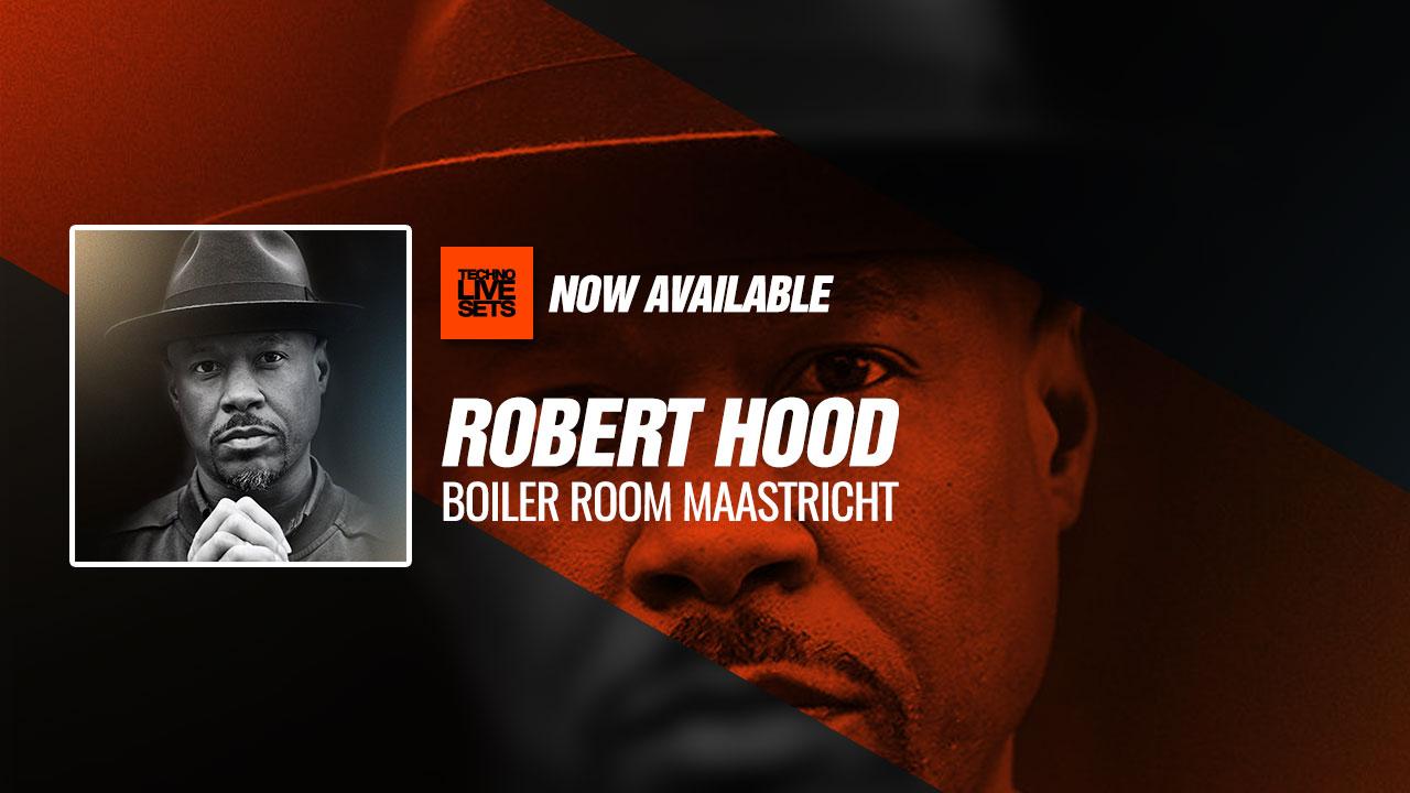 Robert Hood 2019 Boiler Room Maastricht 13-04-2019