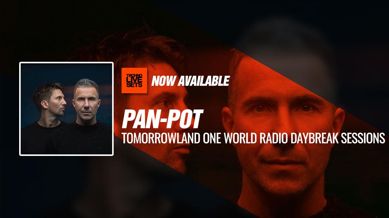 Pan-Pot 2019 Tomorrowland One World Radio Daybreak