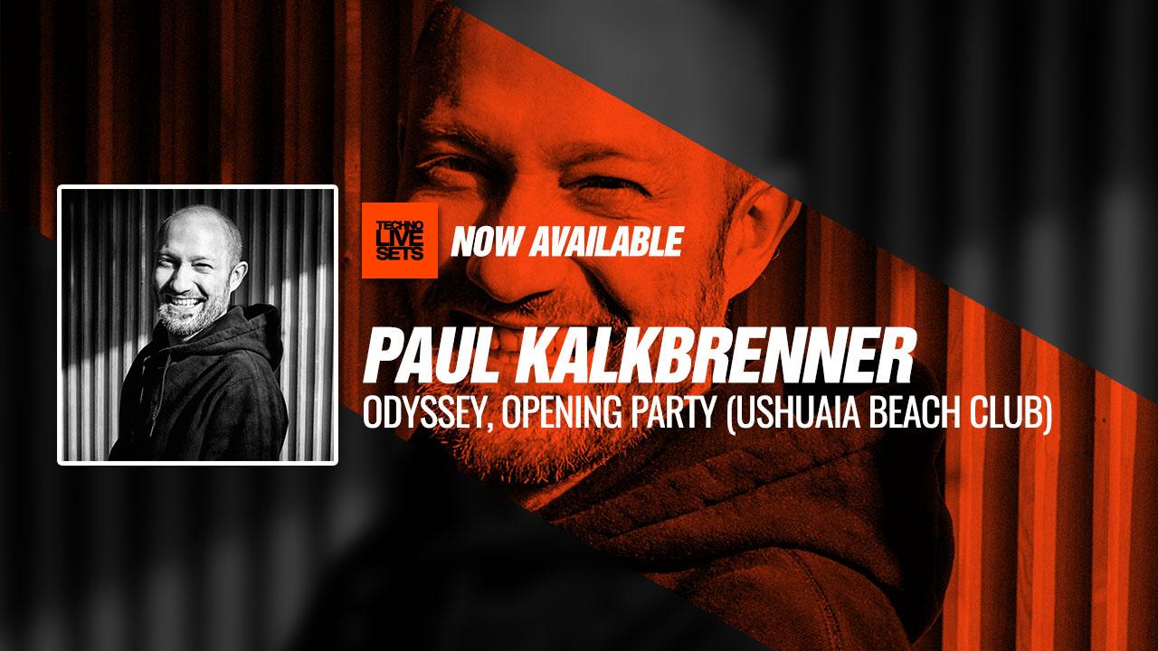 Paul Kalkbrenner 2019 Odyssey, Opening Party (Ushuaia